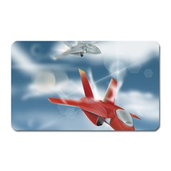 America Jet Fighter Air Force Magnet (rectangular) by NickGreenaway