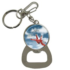 America Jet Fighter Air Force Bottle Opener Key Chain by NickGreenaway