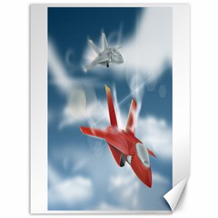 America Jet Fighter Air Force Canvas 36  X 48  (unframed) by NickGreenaway
