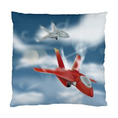 America Jet Fighter Air Force Cushion Case (single Sided)  by NickGreenaway