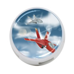 America Jet Fighter Air Force 4 Port Usb Hub (one Side) by NickGreenaway