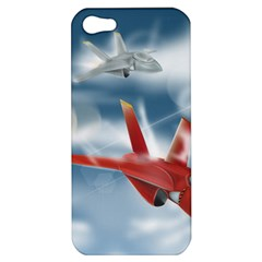 America Jet Fighter Air Force Apple Iphone 5 Hardshell Case by NickGreenaway