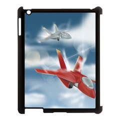 America Jet Fighter Air Force Apple Ipad 3/4 Case (black) by NickGreenaway