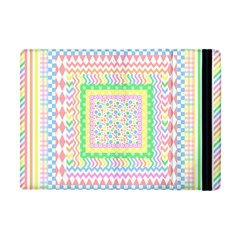 Layered Pastels Apple Ipad Mini Flip Case by StuffOrSomething