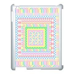 Layered Pastels Apple Ipad 3/4 Case (white) by StuffOrSomething