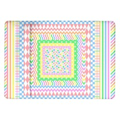 Layered Pastels Samsung Galaxy Tab 10 1  P7500 Flip Case by StuffOrSomething