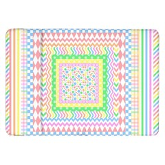 Layered Pastels Samsung Galaxy Tab 8 9  P7300 Flip Case by StuffOrSomething