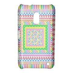 Layered Pastels Nokia Lumia 620 Hardshell Case by StuffOrSomething