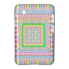 Layered Pastels Samsung Galaxy Tab 2 (7 ) P3100 Hardshell Case  by StuffOrSomething