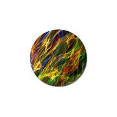 Colourful Flames  Golf Ball Marker 4 Pack by Colorfulart23