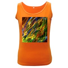 Colourful Flames  Women s Tank Top (dark Colored) by Colorfulart23