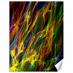 Colourful Flames  Canvas 18  X 24  (unframed) by Colorfulart23