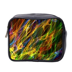 Colourful Flames  Mini Travel Toiletry Bag (two Sides) by Colorfulart23