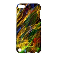 Colourful Flames  Apple Ipod Touch 5 Hardshell Case by Colorfulart23