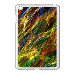 Colourful Flames  Apple Ipad Mini Case (white) by Colorfulart23