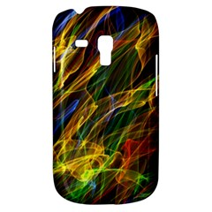 Colourful Flames  Samsung Galaxy S3 Mini I8190 Hardshell Case by Colorfulart23