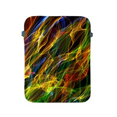 Colourful Flames  Apple Ipad Protective Sleeve by Colorfulart23