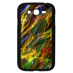 Colourful Flames  Samsung Galaxy Grand Duos I9082 Case (black) by Colorfulart23