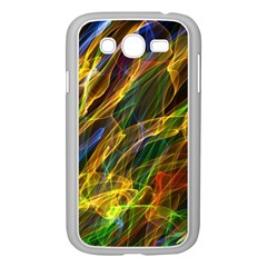 Colourful Flames  Samsung Galaxy Grand Duos I9082 Case (white) by Colorfulart23