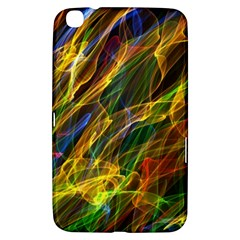 Colourful Flames  Samsung Galaxy Tab 3 (8 ) T3100 Hardshell Case  by Colorfulart23