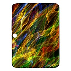 Colourful Flames  Samsung Galaxy Tab 3 (10 1 ) P5200 Hardshell Case  by Colorfulart23