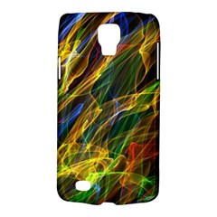 Colourful Flames  Samsung Galaxy S4 Active (i9295) Hardshell Case by Colorfulart23