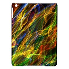 Colourful Flames  Apple Ipad Air Hardshell Case by Colorfulart23