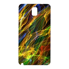 Colourful Flames  Samsung Galaxy Note 3 N9005 Hardshell Back Case by Colorfulart23
