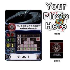 Bsg Attack Wing By Michael   Playing Cards 54 Designs   Be3ef55tvyg5   Www Artscow Com Front - Spade2