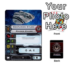 Ace Bsg Attack Wing By Michael   Playing Cards 54 Designs   Be3ef55tvyg5   Www Artscow Com Front - SpadeA