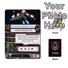 Bsg Attack Wing By Michael   Playing Cards 54 Designs   Be3ef55tvyg5   Www Artscow Com Front - Heart8