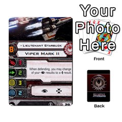 Ace Bsg Attack Wing By Michael   Playing Cards 54 Designs   Be3ef55tvyg5   Www Artscow Com Front - HeartA