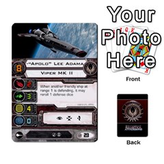 Bsg Attack Wing By Michael   Playing Cards 54 Designs   Be3ef55tvyg5   Www Artscow Com Front - Diamond3