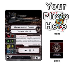 Bsg Attack Wing By Michael   Playing Cards 54 Designs   Be3ef55tvyg5   Www Artscow Com Front - Diamond8