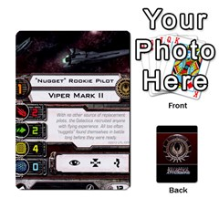 Ace Bsg Attack Wing By Michael   Playing Cards 54 Designs   Be3ef55tvyg5   Www Artscow Com Front - DiamondA