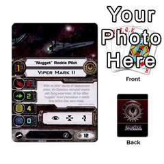 Bsg Attack Wing By Michael   Playing Cards 54 Designs   Be3ef55tvyg5   Www Artscow Com Front - Club6
