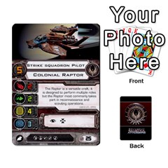 Bsg Attack Wing By Michael   Playing Cards 54 Designs   Be3ef55tvyg5   Www Artscow Com Front - Club10
