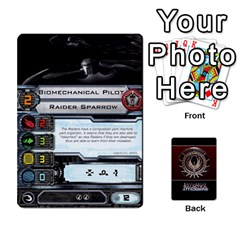 Bsg Attack Wing By Michael   Playing Cards 54 Designs   Be3ef55tvyg5   Www Artscow Com Front - Spade7