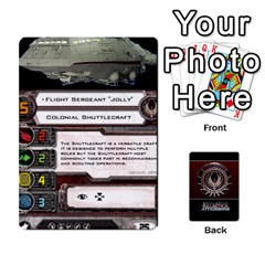 Bsg Attack Wing By Michael   Playing Cards 54 Designs   Be3ef55tvyg5   Www Artscow Com Front - Joker2