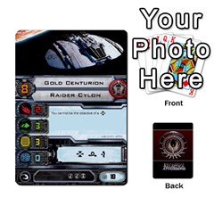 Bsg Attack Wing By Michael   Playing Cards 54 Designs   Be3ef55tvyg5   Www Artscow Com Front - Spade8