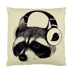Raccoon Cushion Case (Single Sided)  by Contest1879409