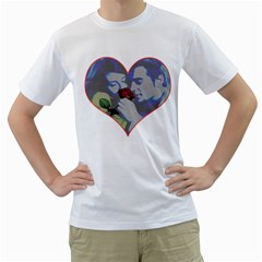 Lovers Men s T Shirt (white)  by Contest1630871