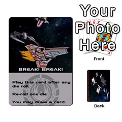 Ace Battlestars Vs Basestars Human Deck By Michael   Playing Cards 54 Designs   Mhk8m3nxjvgr   Www Artscow Com Front - SpadeA