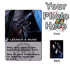 Battlestars Vs Basestars Human Deck By Michael   Playing Cards 54 Designs   Mhk8m3nxjvgr   Www Artscow Com Front - Diamond8