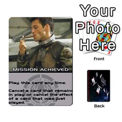 Queen Battlestars Vs Basestars Human Deck By Michael   Playing Cards 54 Designs   Mhk8m3nxjvgr   Www Artscow Com Front - DiamondQ