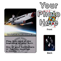 Battlestars Vs Basestars Human Deck By Michael   Playing Cards 54 Designs   Mhk8m3nxjvgr   Www Artscow Com Front - Club8