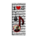 music hand towel