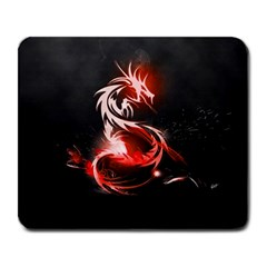 Abstract Red Dragon  Large Mouse Pad (rectangle) by TribalStore