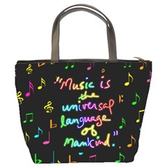 Music Bucket Bag #2 By Joy Johns   Bucket Bag   Hez4bh8msa7g   Www Artscow Com Back