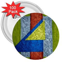 Abstract 3  Button (100 Pack) by Siebenhuehner